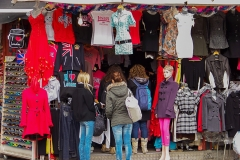 Shopping in Camden Town,  London